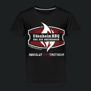 UdenheimBBQ Junior-Fan-Shirt - Kinder Premium T-Shirt