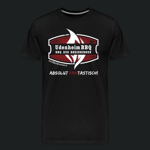 UdenheimBBQ Fan T-Shirt Absolut FANtastisch - Männer Premium T-Shirt