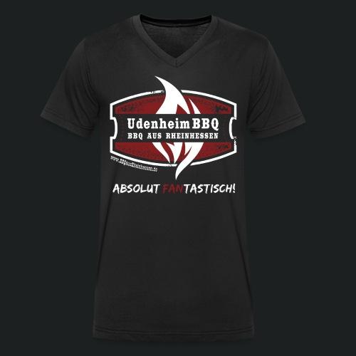 Männer Shirt mit V-Ausschnitt - Männer Bio-T-Shirt mit V-Ausschnitt von Stanley & Stella