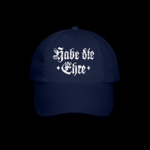 Habe die Ehre (Vintage/Weiß) Baseballkappe - Baseballkappe