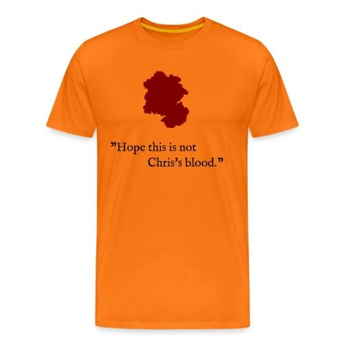 Chris's blood - T-Shirt in vielen Farben - Männer Premium T-Shirt