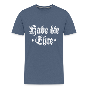 Habe die Ehre (Vintage/Weiß) Teenager T-Shirt - Teenager Premium T-Shirt