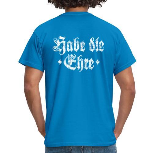 Habe die Ehre (Vintage/Weiß) T-Shirt - Männer T-Shirt