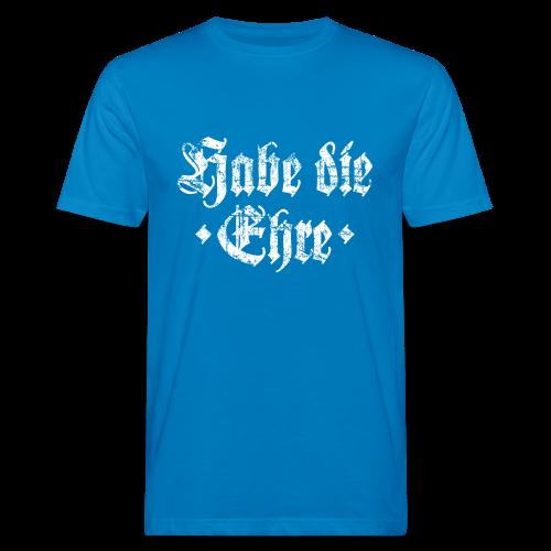 Habe die Ehre (Vintage/Weiß) Bio T-Shirt - Männer Bio-T-Shirt