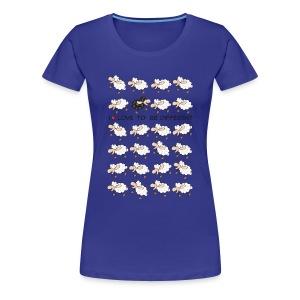 Grappig vrouwen shirt Be Differerent!  - Vrouwen Premium T-shirt