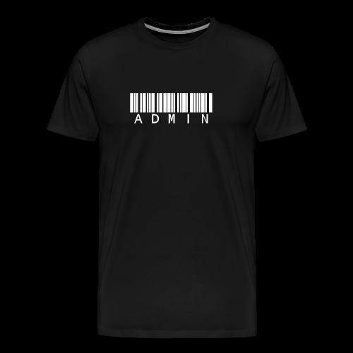 Admin T-Shirt www.code3175.com - Männer Premium T-Shirt