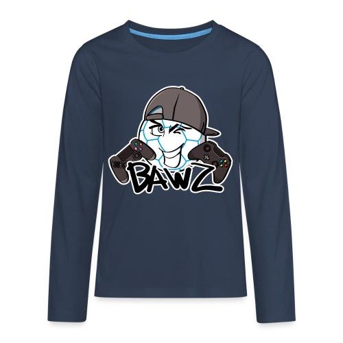 Shirt met lange mouwen tiener voetbal - Teenager Premium shirt met lange mouwen