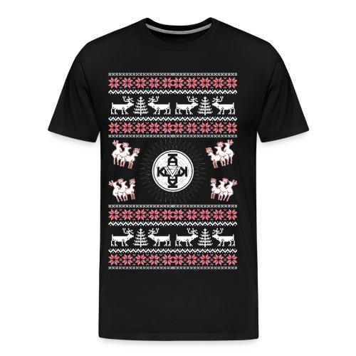 PBR WINTER SHIRT Schwarz - Männer Premium T-Shirt