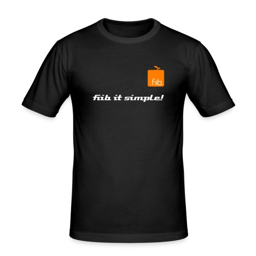 fiib it simple T - Männer Slim Fit T-Shirt