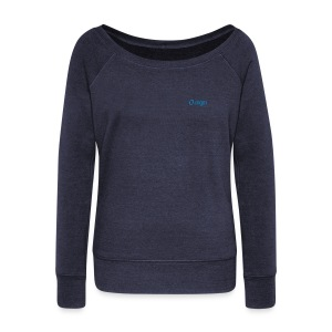 Sweater Women Navy Boat Neckline - Women's Boat Neck Long Sleeve Top