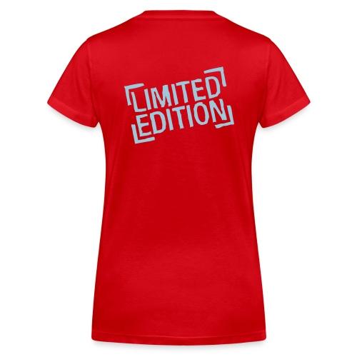 Frauen T-Shirt Limited Edition - Frauen Bio-T-Shirt mit V-Ausschnitt von Stanley & Stella