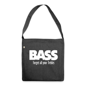 BASS Forget all your Trebles Recycling Tasche - Schultertasche aus Recycling-Material