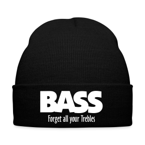 BASS Forget all your Trebles Mütze - Wintermütze