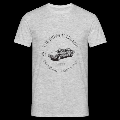 PEUGEOT 504 coupé FRENCH CAR - T-shirt Homme