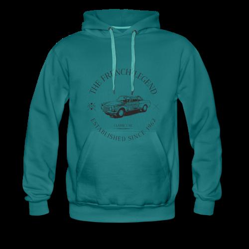 PEUGEOT 404 coupé FRENCH CAR - Sweat-shirt à capuche Premium pour hommes