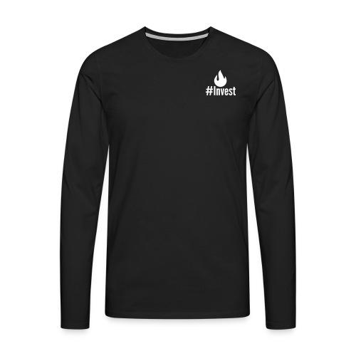 #Invest Premium Langarm  - Men's Premium Longsleeve Shirt