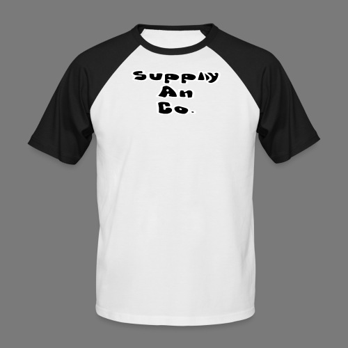 Supply An Co. 2 colour Tshirt - Men's Baseball T-Shirt