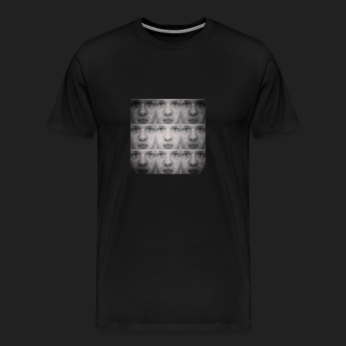 shirt - faces - Men's Premium T-Shirt