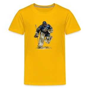 Hockey Torwart T-Shirts - Teenager Premium T-Shirt