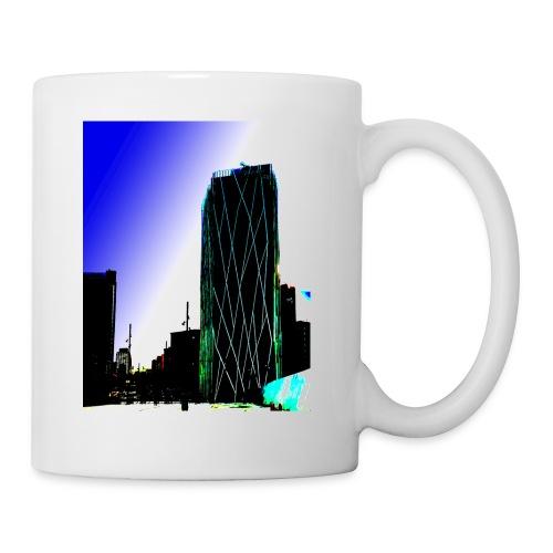 Abstract Barcelona mug - Mug
