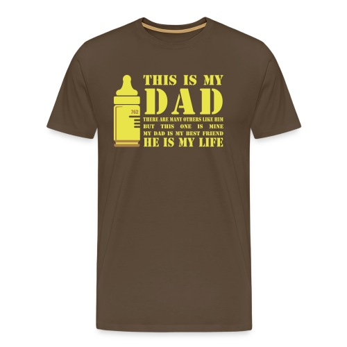 FULL METAL DADDY - Men's Premium T-Shirt