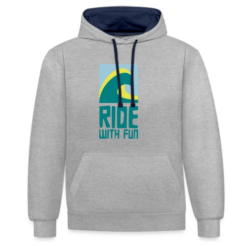 RWF Hoodie - Kontrast-Hoodie