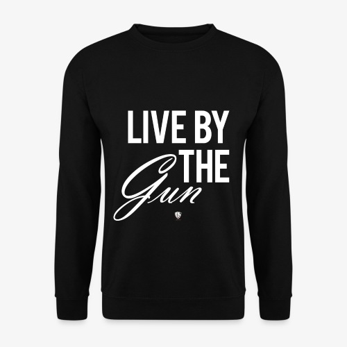 LIVE BY THE GUN - Männer Pullover