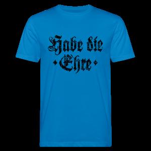 Habe die Ehre (Vintage/Schwarz) Bio T-Shirt - Männer Bio-T-Shirt