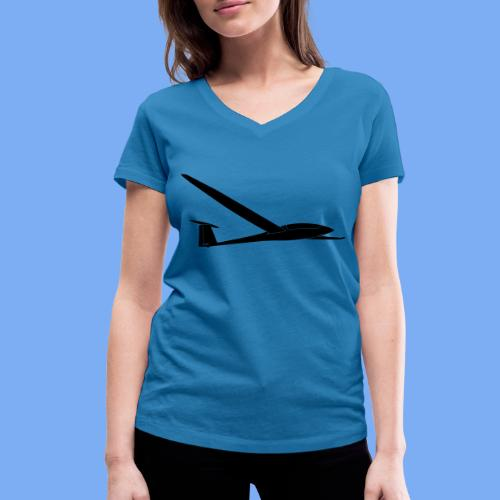 Duo Discus - Women's Organic V-Neck T-Shirt by Stanley & Stella