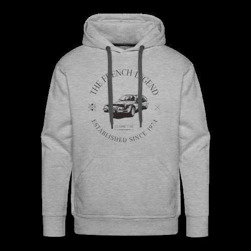 CITROEN CX FRENCH CAR - Sweat-shirt à capuche Premium pour hommes