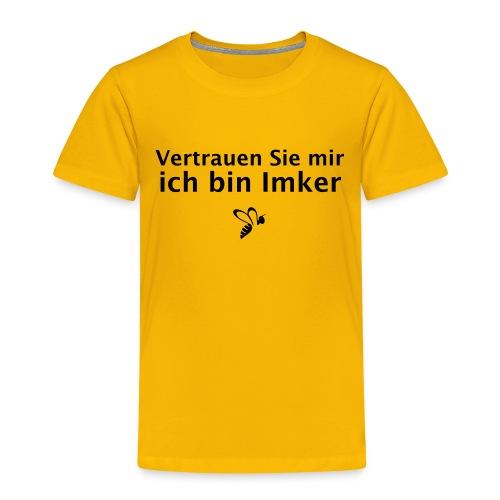 Vertrauen Sie mir ich bin Imker - Kinder Premium T-Shirt