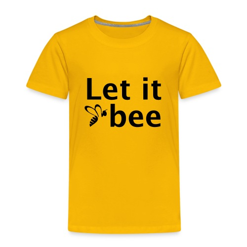 Let it bee - Kinder Premium T-Shirt