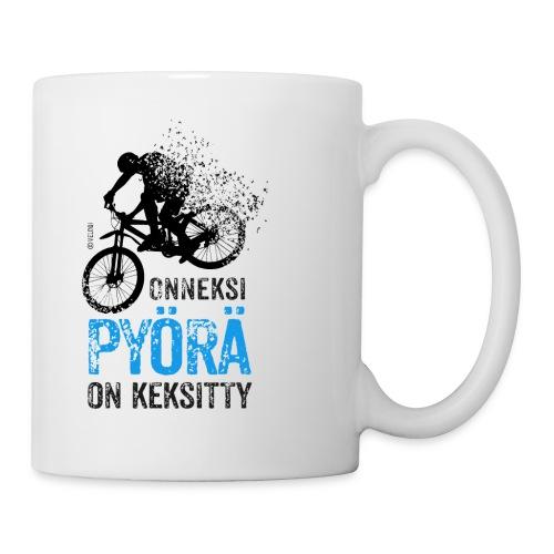 Onneksi pyörä on keksitty MTB muki - Muki