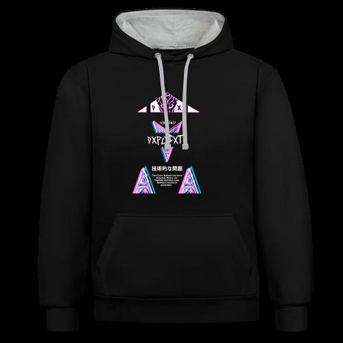 Slaytans contrast hoodie! - Contrast Colour Hoodie