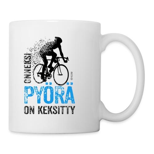 Onneksi pyörä on keksitty Maantiepyöräilijä- muki - Muki