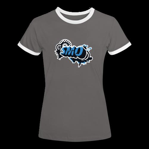 Ladies College Tee - 2016 Logo - Women's Ringer T-Shirt