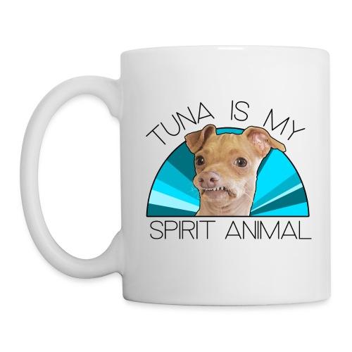 Tuna is my Spirit Animal Ceramic Mug (blue) - Mug