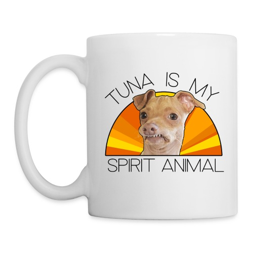 Tuna is my Spirit Animal Ceramic Mug (orange) - Mug