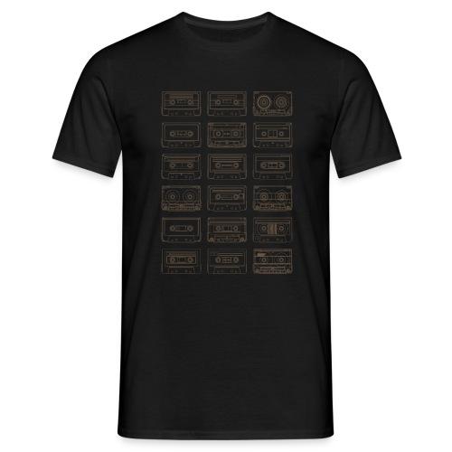 Cassettes Patchwork 80s - T-shirt Homme