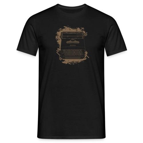 Typewriter AZERTY - T-shirt Homme