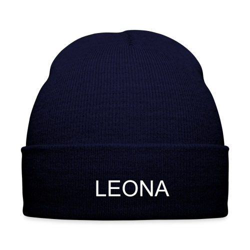 LEONA CAP (blue) - Winter Hat