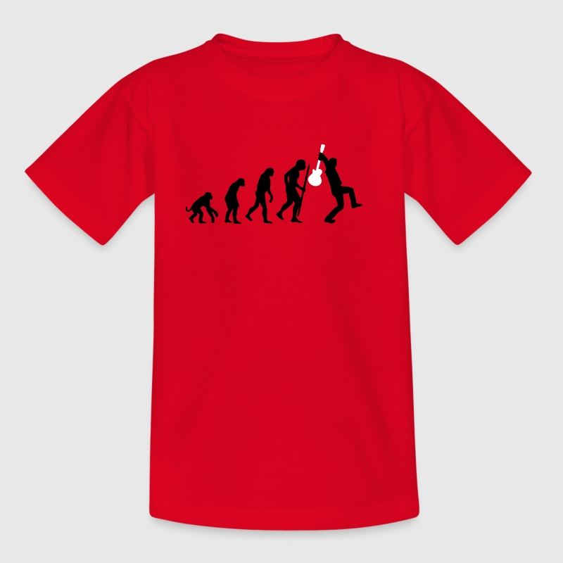 Evolution of rock Tee shirts - T-shirt Ado
