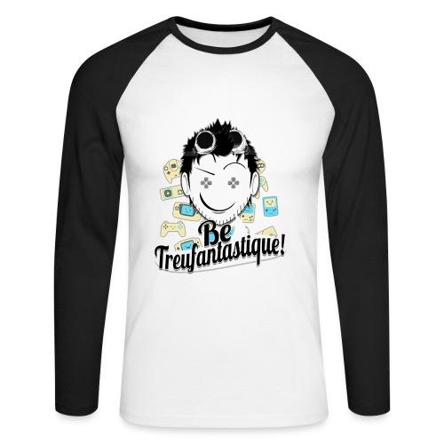 Be Treufantastique!© Panda Édition Limitée - T-shirt baseball manches longues Homme