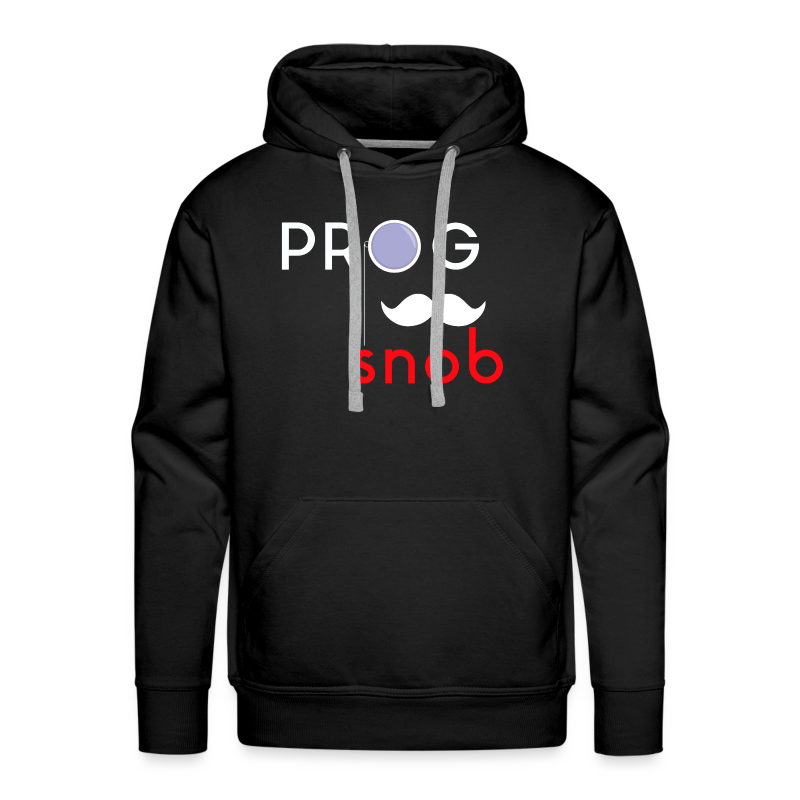Prog Snob - Hoodie for men - Men's Premium Hoodie