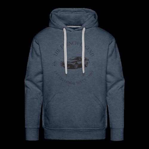 FUEGO FRENCH CAR - Sweat-shirt à capuche Premium pour hommes