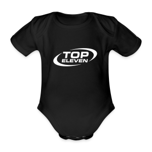 Babies Logo Bodysuit - Black - Organic Short-sleeved Baby Bodysuit