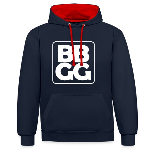 BBGG Sweat-shirt - Contrast Colour Hoodie