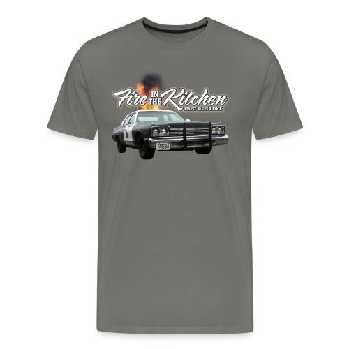 Fire In The Kitchen BluesMobil - Männer Premium T-Shirt