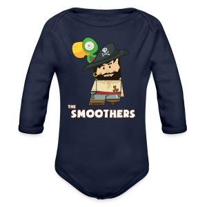 Body smoothers - Body ecologico per neonato a manica lunga