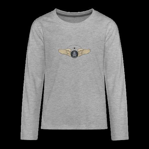 THWings #retro #teenager (unisex) - Teenager Premium Langarmshirt